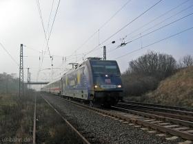 "DB AG | 101 101-4 | Werbelok ""Europa"" | Ingelheim | 15.01.2007 | (c) Uli Kutting"