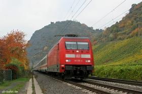 DB AG | 101 101-4 | Leutesdorf | 27.10.2015 | (c) Uli Kutting