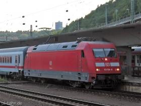 DB AG |101 104-8 | Koblenz Hbf | 6.09.2006 | (c) Uli Kutting