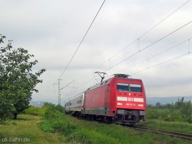 DB AG |101 111-3 | Gau-Algesheim | 3.08.2006 | (c) Uli Kutting