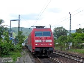 DB AG |101 115-4 | IC 2015 | Bingen Stadt | 8.06.2006 | (c) Uli Kutting