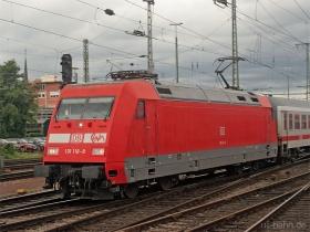 DB AG |101 118-8 | Koblenz Hbf | 20.08.2007 | (c) Uli Kutting