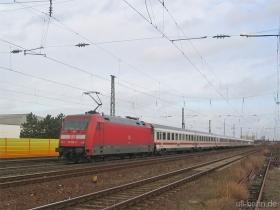 DB AG |101 123-8 | Gau-Algesheim | 12.01.2007 | (c) Uli Kutting