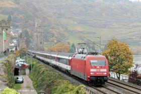 DB AG |101 123-8 | Oberwesel | 28.10.2015 | (c) Uli Kutting