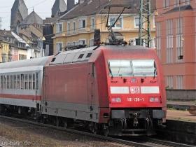DB AG |101 126-1 | Koblenz Hbf | 11.07.2007 | (c) Uli Kutting