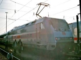 "DB AG |101 130-3 | ""metronom"" | Hamburg-Eidelstädt | 20.09.2003 | (c) Uli Kutting"
