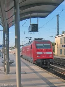 DB AG |101 137-8 | Mainz Hbf | 7.10.2004 | (c) Uli Kutting