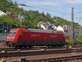 DB AG |101 137-8 | Koblenz Hbf | 4.05.2007 | (c) Uli Kutting