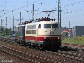 DB | 103 184-8 | mit E10 121 | Ingelheim | 16.04.2007 |  (c) Uli Kutting