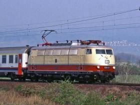 "DB | E03 001 | Sonderzug ""Semper-Oper-Nostalgieexpress"" (TEE 91645 EMST - DH) |Gau-Algesheim | 14.04.2005 | (c) Uli Kutting"