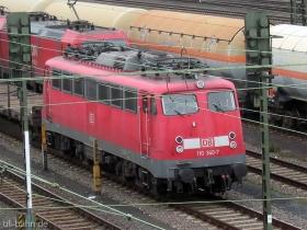 DB | 110 333-2 | Mainz-Bischofsheim | 6.12.2006 | (c) Uli Kutting