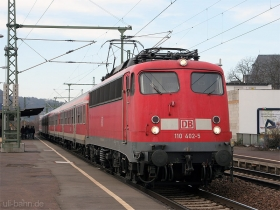 DB | 110 402-5 | Oberlahnstein | 3.10.2010 | (c) Uli Kutting