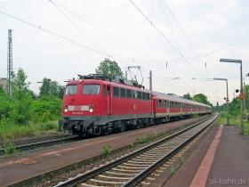 DB | 110 405-8 | Wiesbaden-Schierstein | 27.06.2006 | (c) Uli Kutting