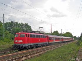 DB | 110 405-8 | Wiesbaden-Schierstein | 3.08.2006 | (c) Uli Kutting