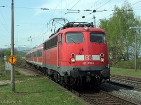 DB | 110 410-8 | Wiesbaden-Biebrich | 13.04.2007 | (c) Uli Kutting