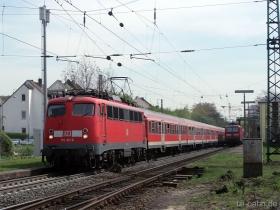 DB | 110 411-6 | Wiesbaden-Biebrich | 13.04.2007 | (c) Uli Kutting