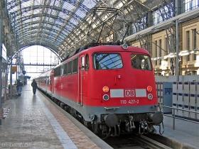 DB | 110 427-2 | Frankfurt Hbf | 25.01.2007 | (c) Uli Kutting
