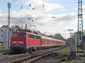 DB | 110 427-2 | Wiesbaden-Biebrich | 15.02.2007 | (c) Uli Kutting