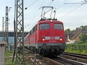 DB | 110 428-0 | Oberlahnstein | 10.05.2007 | (c) Uli Kutting