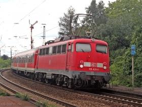 DB | 110 428-0 | Oberlahnstein | 17.08.2007 | (c) Uli Kutting