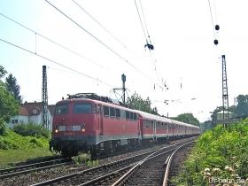 DB | 110 436-3 | Wiesbaden-Biebrich | 21.07.2006 | (c) Uli Kutting