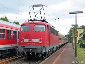 DB | 110 439-7 | Wiesbaden-Biebrich | 31.05.2006 | (c) Uli Kutting