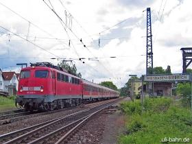 DB | 110 440-5 | Wiesbaden-Biebrich | 6.06.2006 | (c) Uli Kutting
