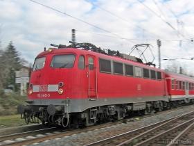 DB | 110 440-5 | Wiesbaden-Biebrich | 7.01.2007 | (c) Uli Kutting