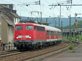 DB | 110 444-7 | Oberlahnstein | 15.08.2007 | (c) Uli Kutting