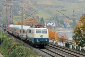 DB  | 111 001-4 | TEE Lr 91340 | Oberwesel | 28.10.2015 | (c) Uli Kutting