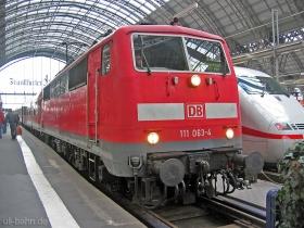 DB AG | 111 063-4 | Frankfurt Hbf | 25.01.2007 | (c) Uli Kutting