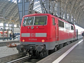 DB AG | 111 070-9 | Frankfurt Hbf | 25.01.2007 | (c) Uli Kutting