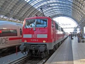DB AG | 111 078-2 | Frankfurt Hbf | 25.01.2007 | (c) Uli Kutting