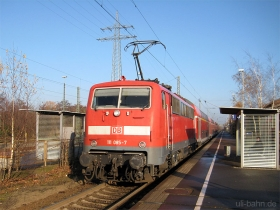 DB AG | 111 085-7 | Papenburg | 22.11.2007 | (c) Uli Kutting
