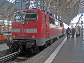 DB AG | 111 093-1 | Frankfurt Hbf | 23.01.2007 | (c) Uli Kutting