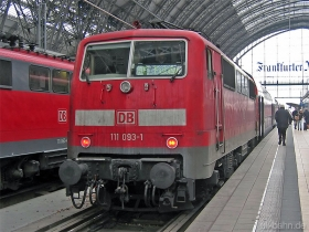 DB AG | 111 093-1 | Frankfurt Hbf | 25.01.2007 | (c) Uli Kutting