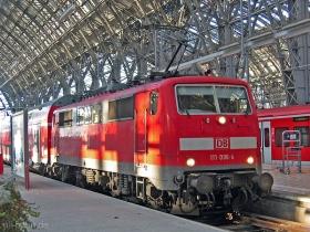 DB AG | 111 096-4 | Frankfurt Hbf | 23.01.2007 | (c) Uli Kutting
