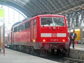 DB AG | 111 097-2 | Frankfurt Hbf | 8.02.2007 | (c) Uli Kutting