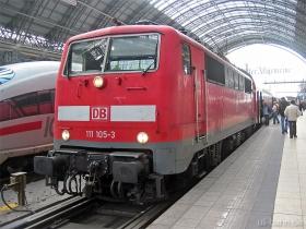 DB AG | 111 105-3 | Frankfurt Hbf | 23.01.2007 | (c) Uli Kutting