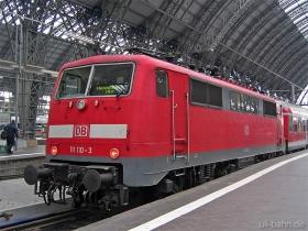 DB AG | 111 110-3 | Frankfurt Hbf | 25.01.2007 | (c) Uli Kutting