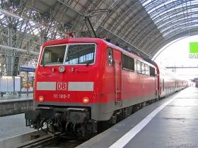 DB AG | 111 189-7 | Frankfurt Hbf | 25.01.2007 | (c) Uli Kutting