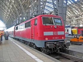 DB AG | 111 192-1 | Frankfurt Hbf | 23.01.2007 | (c) Uli Kutting
