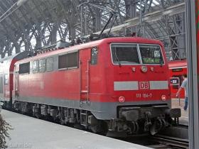 DB AG | 111 194-7 | Frankfurt Hbf | 9.04.2007 | (c) Uli Kutting