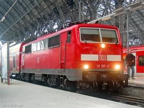 DB AG | 111 197-0 | Frankfurt Hbf | 8.02.2007 | (c) Uli Kutting