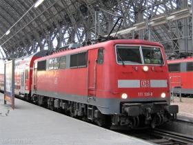 DB AG | 111 198-8 | Frankfurt Hbf | 16.01.2008 | (c) Uli Kutting