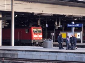DB AG | 112 114-4 | Hamburg Hbf | 16.01.2008 | (c) Uli Kutting