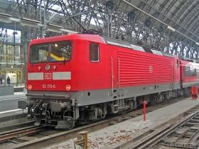 DB AG | 112 170-6 | Frankfurt Hbf | 17.02.2007 | (c) Uli Kutting