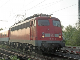 DB AG | 115 346-9 | Wiesbaden-Biebrich | 25.04.2007 | (c) Uli Kutting