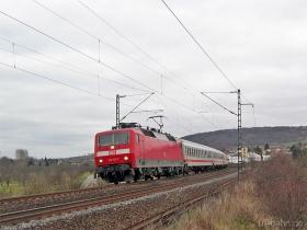 DB AG | 120 103-7 | Gau-Algesheim | 4.02.2007 | (c) Uli Kutting