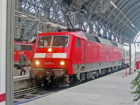 DB AG | 120 105-2 | Frankfurt Hbf | 8.02.2007 | (c) Uli Kutting
